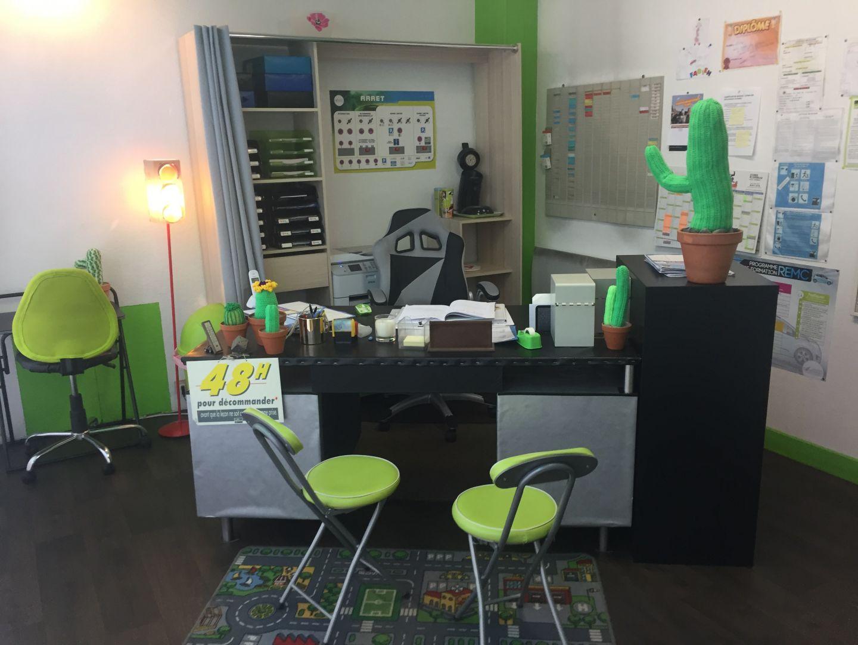 bureau/accueil auto-école du centre